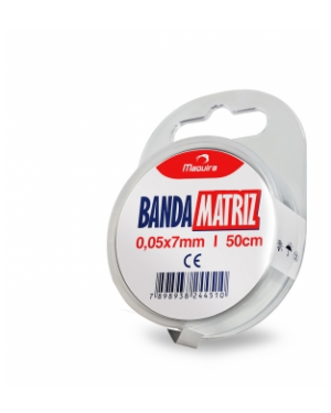 Banda Matriz 0,05x7mm - Maquira