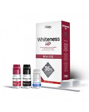 Mini Kit Clareador Dental Whiteness HP 35% 1 Paciente - FGM